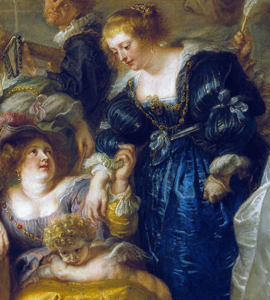 Peter Paul Rubens (1577-1640) Gradina Iubirii 1630 - 35