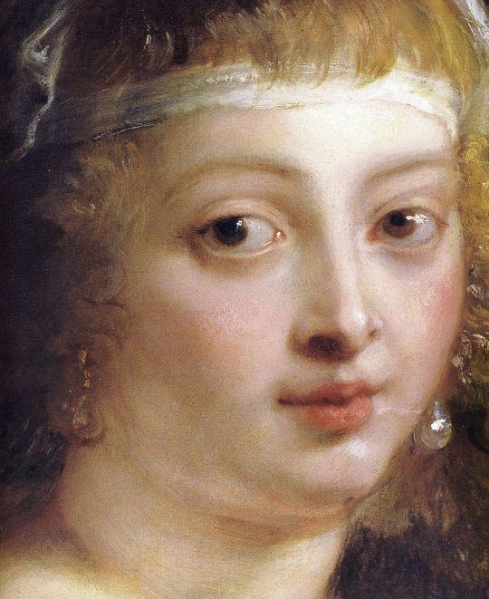 Peter Paul Rubens (1577-1640) Helen Fourment Muzeul de Istorie a Artei ,Viena