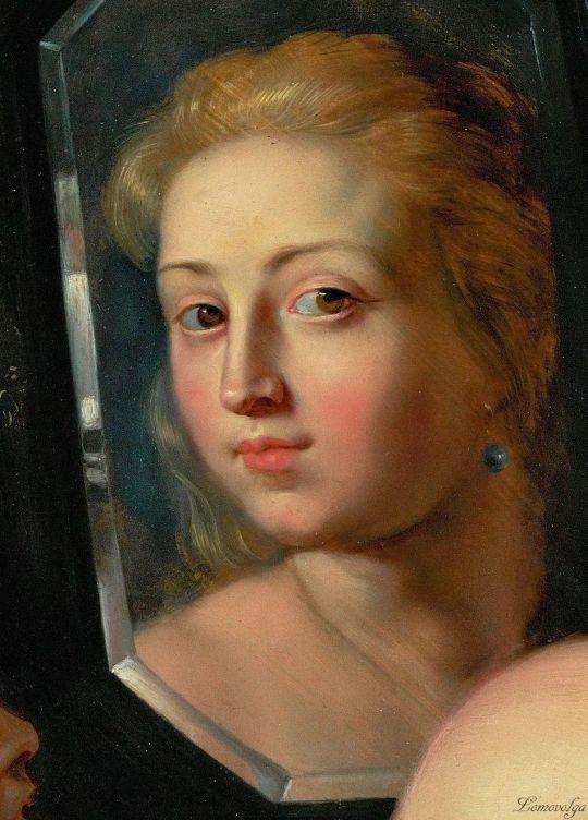 Peter Paul Rubens 1615 Venus in fata oglinzi