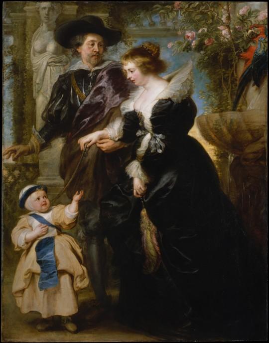 Rubens Paul Peter (1577-1640) sotia si unul dintre copii