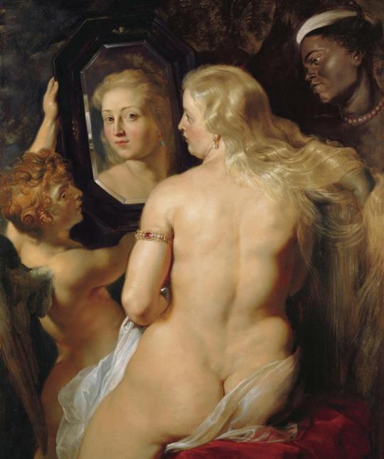 rubens -venus in fata oglinzii