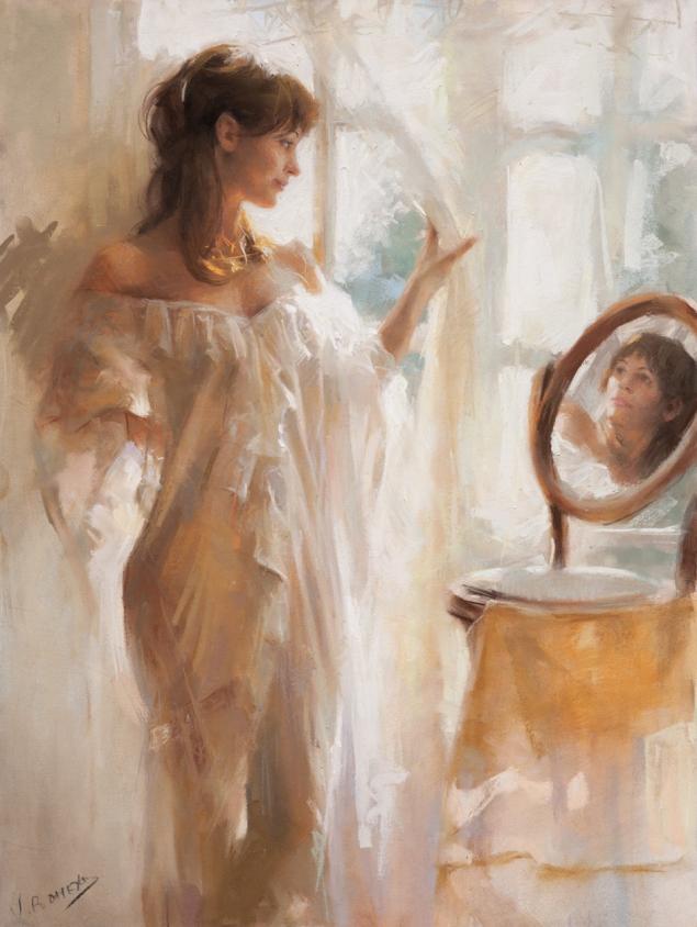 Artistul spaniol Vicente Romero Redondo n